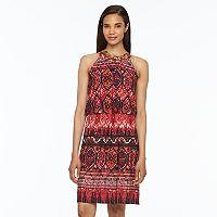 Women's MSK Chain Link Halter Blouson Dress