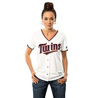 Women's Majestic Minnesota Twins Cool Base Replica Jersey