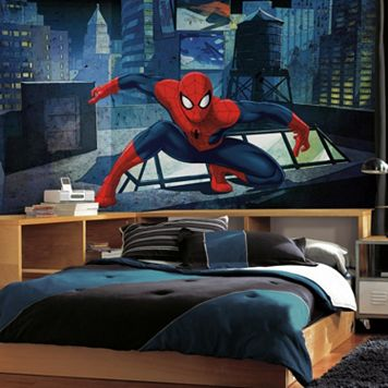 RoomMates Ultimate Spider-Man CityScape Wall Mural