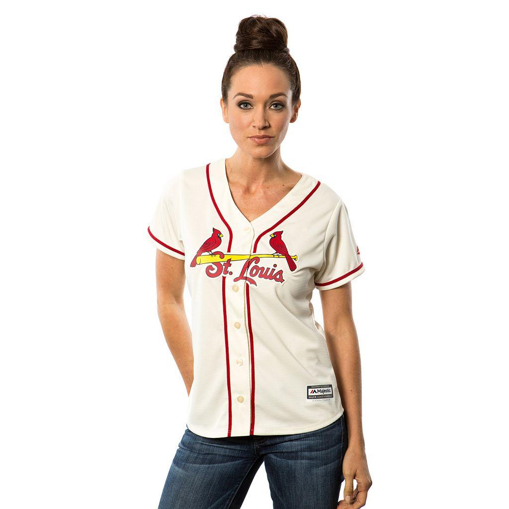 Women's Majestic St. Louis Cardinals Replica Jersey