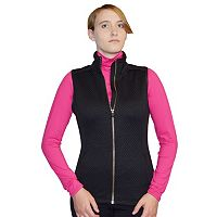 Women's Snow Angel Minx Mountain Quilted Zip Up Vest