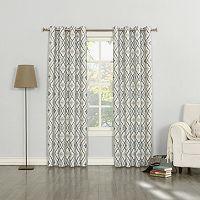 Sun Zero Sylvie Thermal Lined Curtain