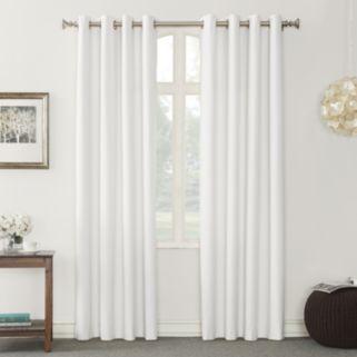 Sun Zero Hylan Thermal Lined Blackout Window Curtain