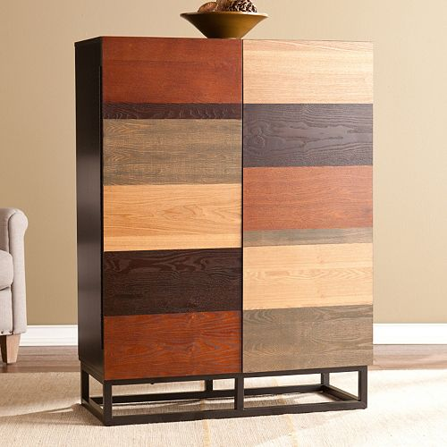 Hayworth Multi Tonal Bar Cabinet