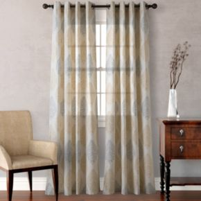 Heritage Landing 2-pack Medallion Scrolls Window Curtains
