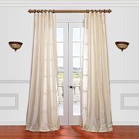 EFF Textured Dupioni Silk Curtain