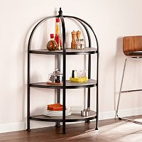 Vivian 3-Tier Rotunda Display Bookshelf