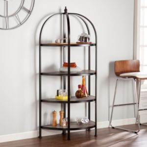 Vivian 4-Tier Rotunda Bookshelf