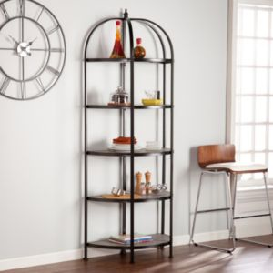 Vivian 5-Tier Rotunda Bookshelf