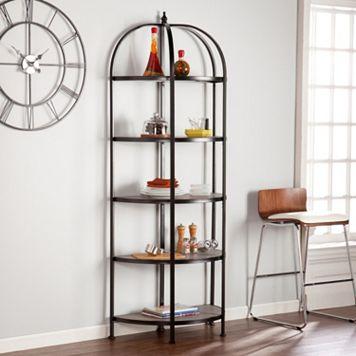 Vivian 5-Tier Rotunda Bookshelf