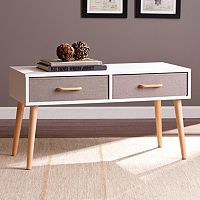 Madison Double Drawer Storage Coffee Table