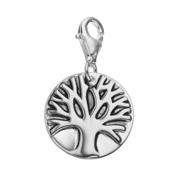 personal charm Sterling Silver Tree of Life Charm
