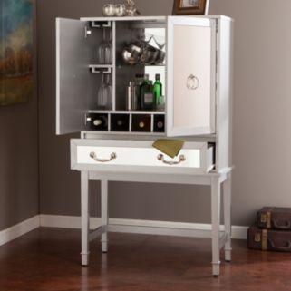 Mckinney Mirrored Bar Cabinet