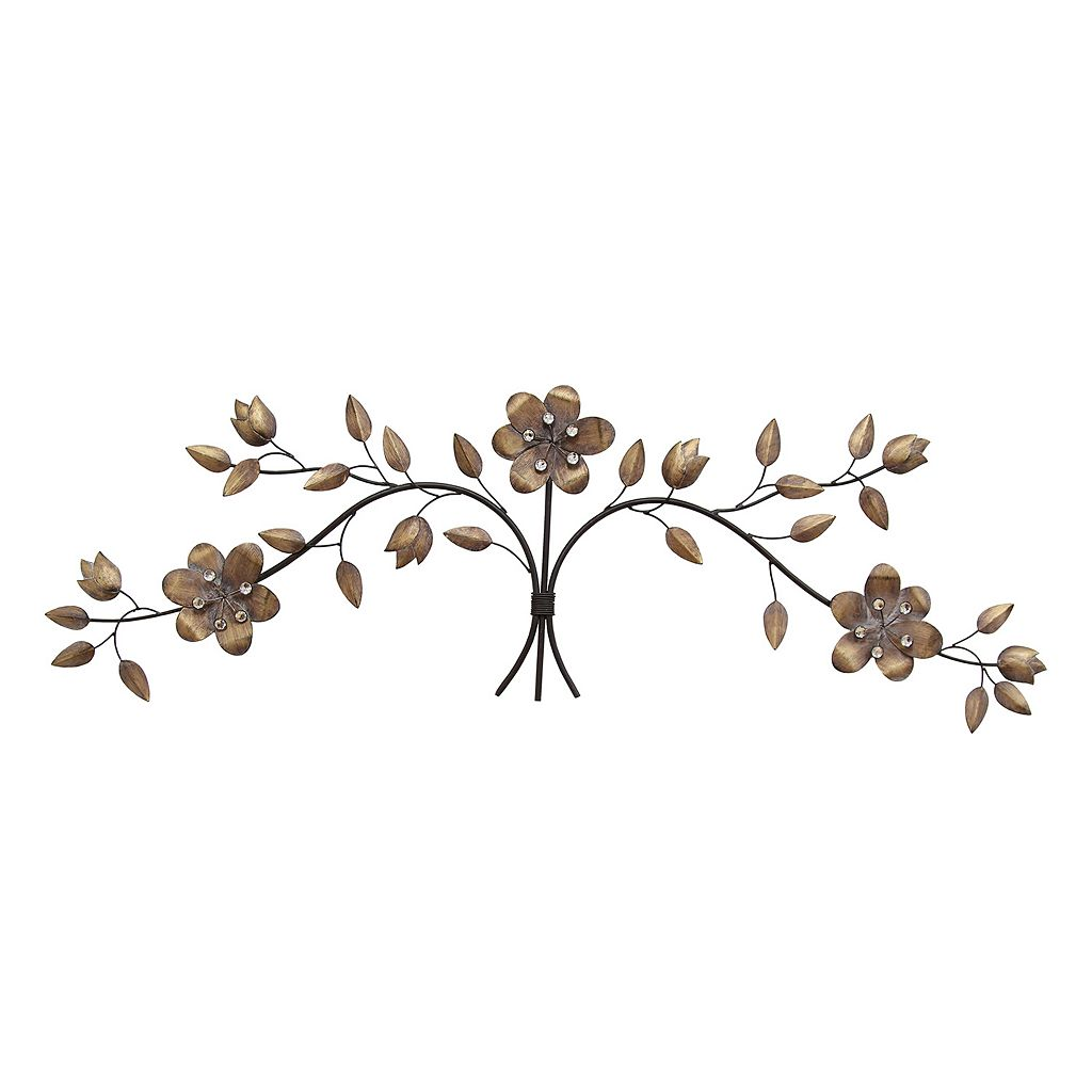 Stratton Home Decor Floral Bouquet Wall Art