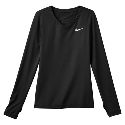Girls 7-16 Nike Dri-FIT Long-Sleeve Tee