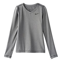 Girls 7-16 Nike Dri-FIT Long-Sleeve Tee