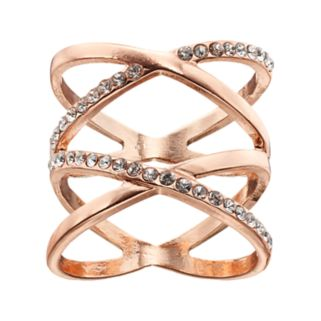 Simulated Crystal Double X Ring