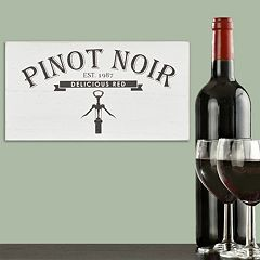 Stratton Home Decor Pinot Noir Box Wall Art