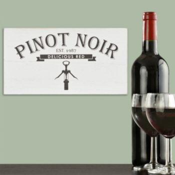 Stratton Home Decor Pinot Noir Box Wall Art