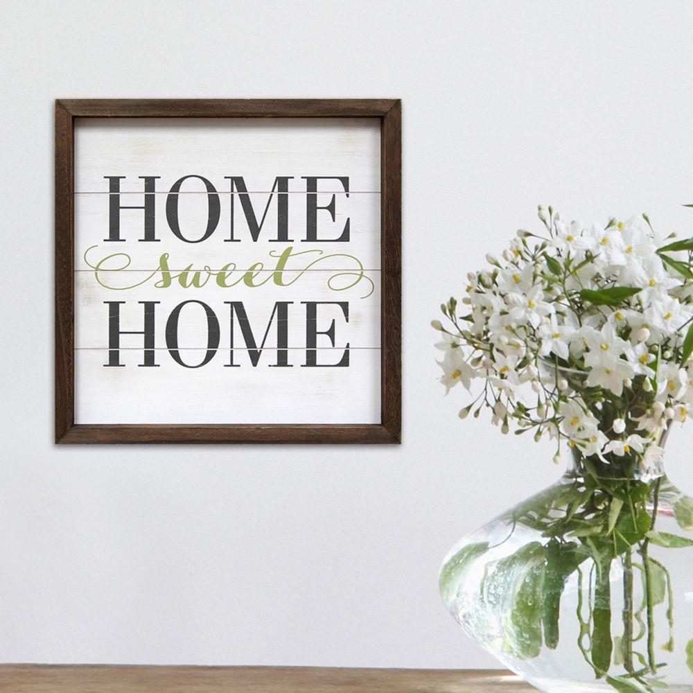 Home Sweet Home Wall Art home decor ''home sweet home'' wall art