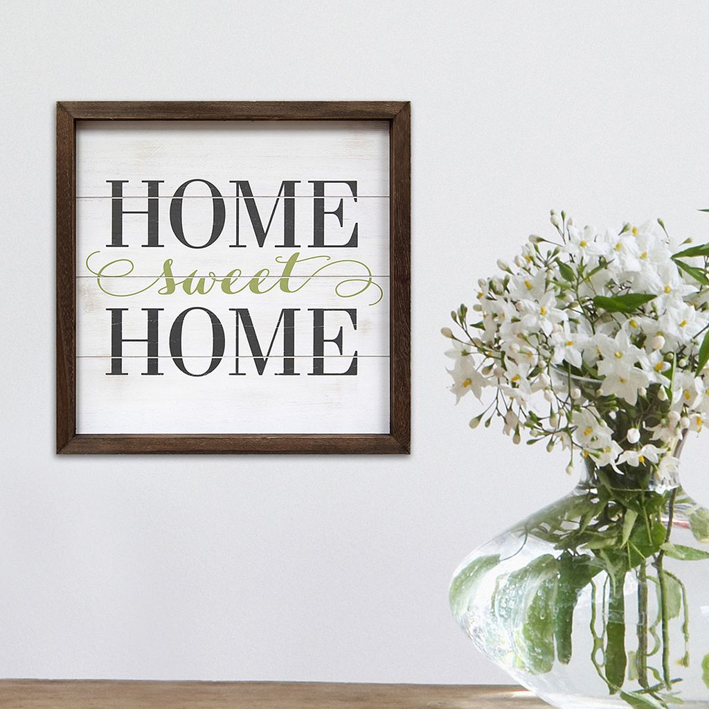 Stratton Home Decor ''Home Sweet Home'' Wall Art