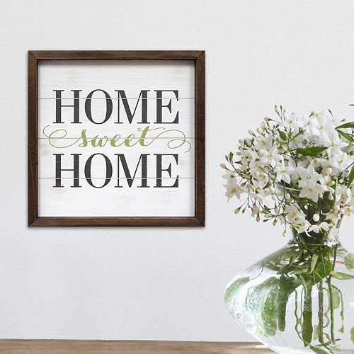 Stratton Home Decor Home Sweet Home Wall Art