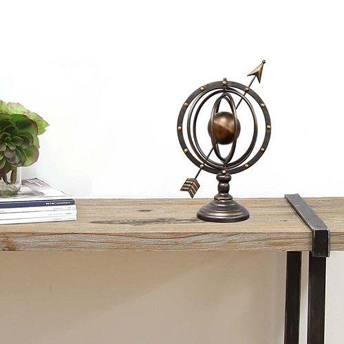 Stratton Home Decor Globe Tabletop Decor