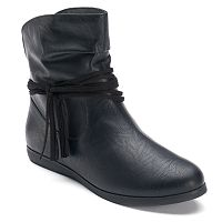 SO® Women's Fringe Ankle Boots
