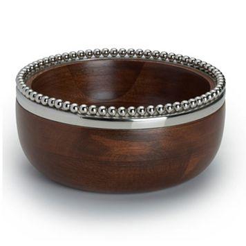 Mikasa Loria Small Wooden Bowl