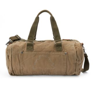 The Same Direction Forest Leather Weekender Bag