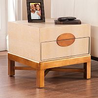 Catron Accent Truck End Table