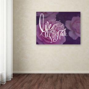 "Trademark Fine Art ""Fairy Tale"" Canvas Wall Art"