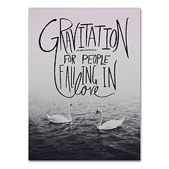 Trademark Fine Art 'Gravitation' Canvas Wall Art