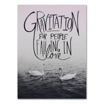 "Trademark Fine Art ""Gravitation"" Canvas Wall Art"