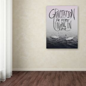 "Trademark Fine Art ""Gravitation"" Canvas Wall Art"