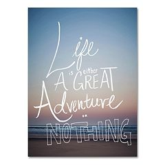 Trademark Fine Art 'Great Adventure' Canvas Wall Art