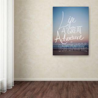 "Trademark Fine Art ""Great Adventure"" Canvas Wall Art"