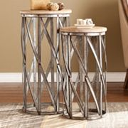 Marley Accent End Table 2 pc Set
