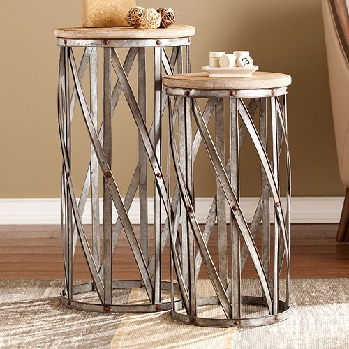 Marley Accent End Table 2-piece Set