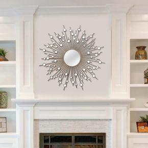 Stratton Home Decor Sunburst Wall Mirror