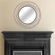 Stratton Home Decor Round Acrylic Wall Mirror
