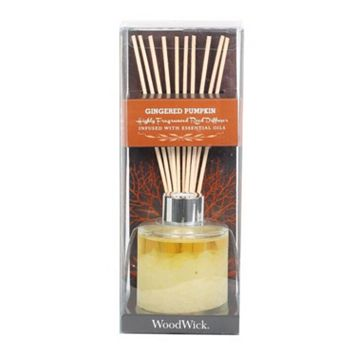 WoodWick Gingered Pumpkin 12-pc. Reed Diffuser Set