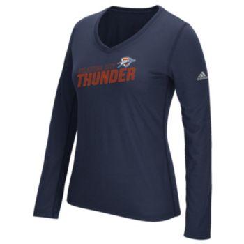 Women's adidas Oklahoma City Thunder Stacked Tee