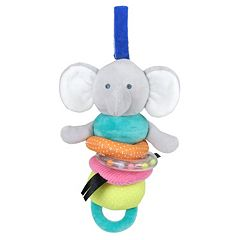 Baby Carter's Elephant Plush Activity Toy