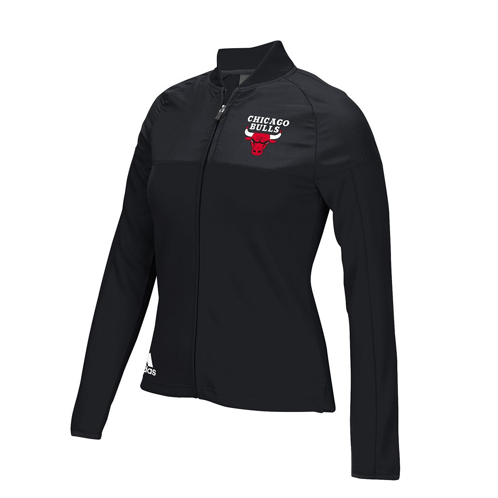 Women's adidas Chicago Bulls On Court Track Jacket