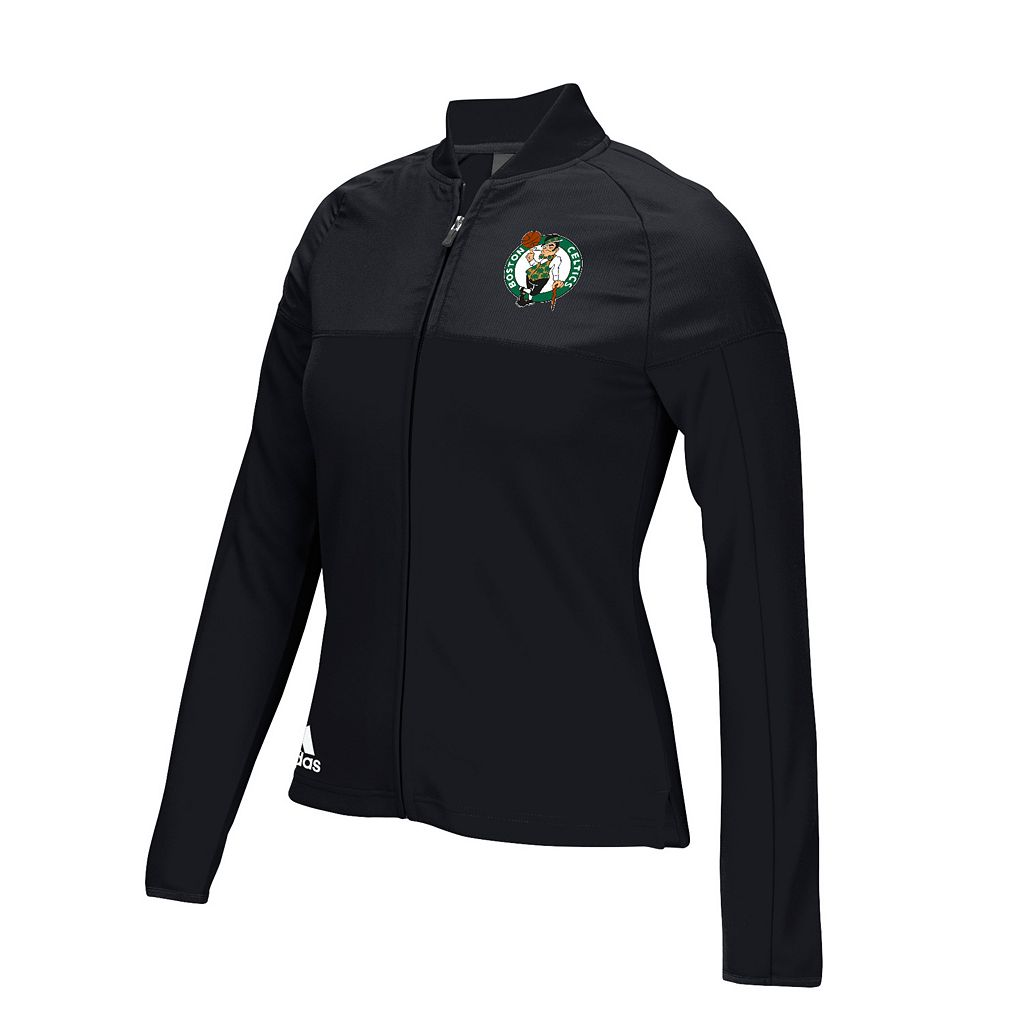 Women's adidas Boston Celtics On Court Track Jacket