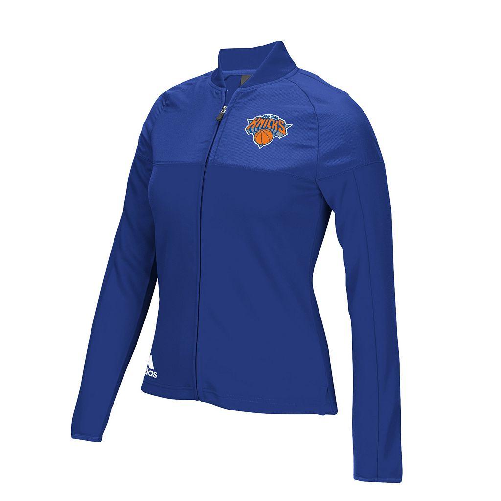 Women's adidas New York Knicks On Court Track Jacket