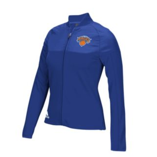 Women's adidas New York Knicks On Court Track Jacket