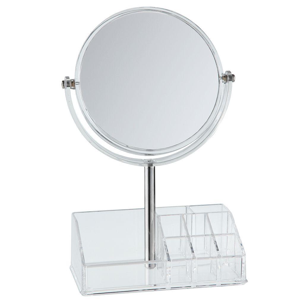 Taymor Round Vanity Storage Mirror