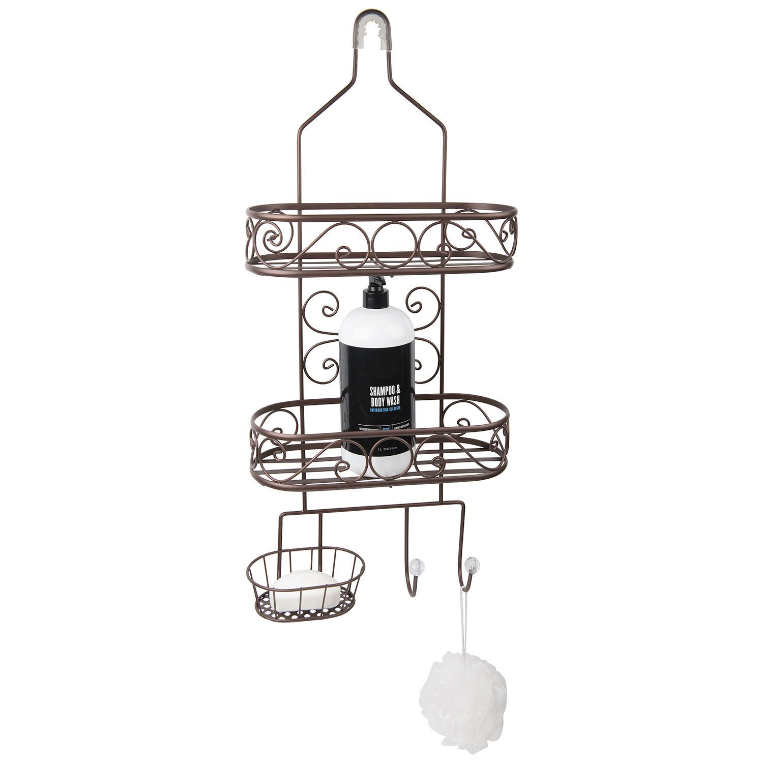 taymor garden shower caddy